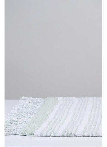 İrya Pamuk Banyo Paspası Martıl 60*90-40*60 Yeşil